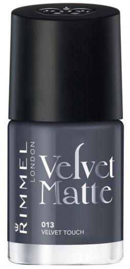 Rimmel Velvet Matte Nail Polish in Velvet Touch